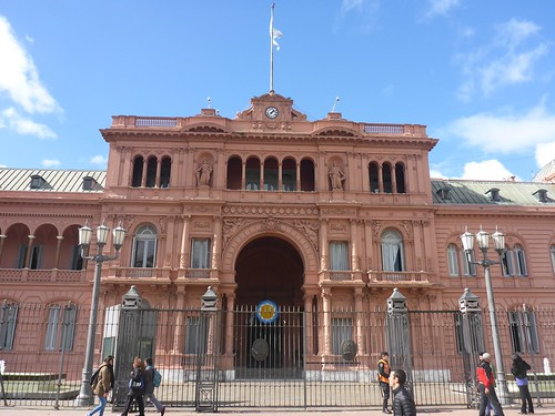 Casa Rosada - the presidents residence