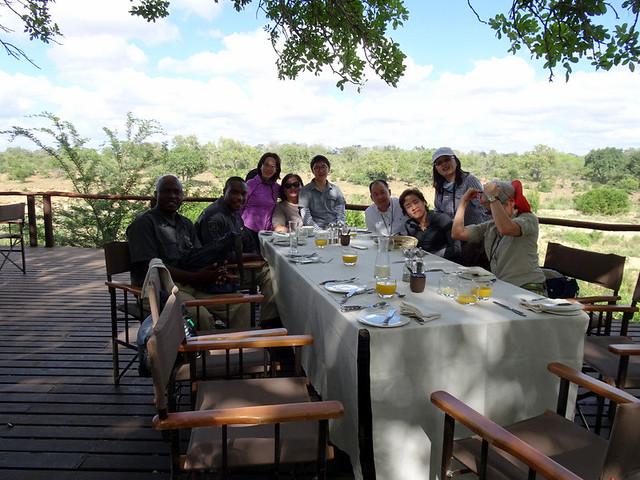 Lion Sands Safari Day 3- Breakfast at Inkwazi Hide-003