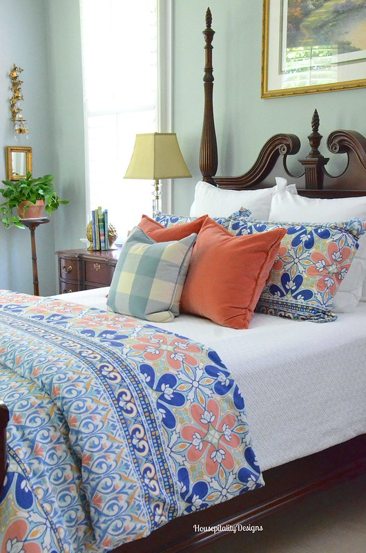 Summer Master Bedroom 2016 - Housepitality Designs