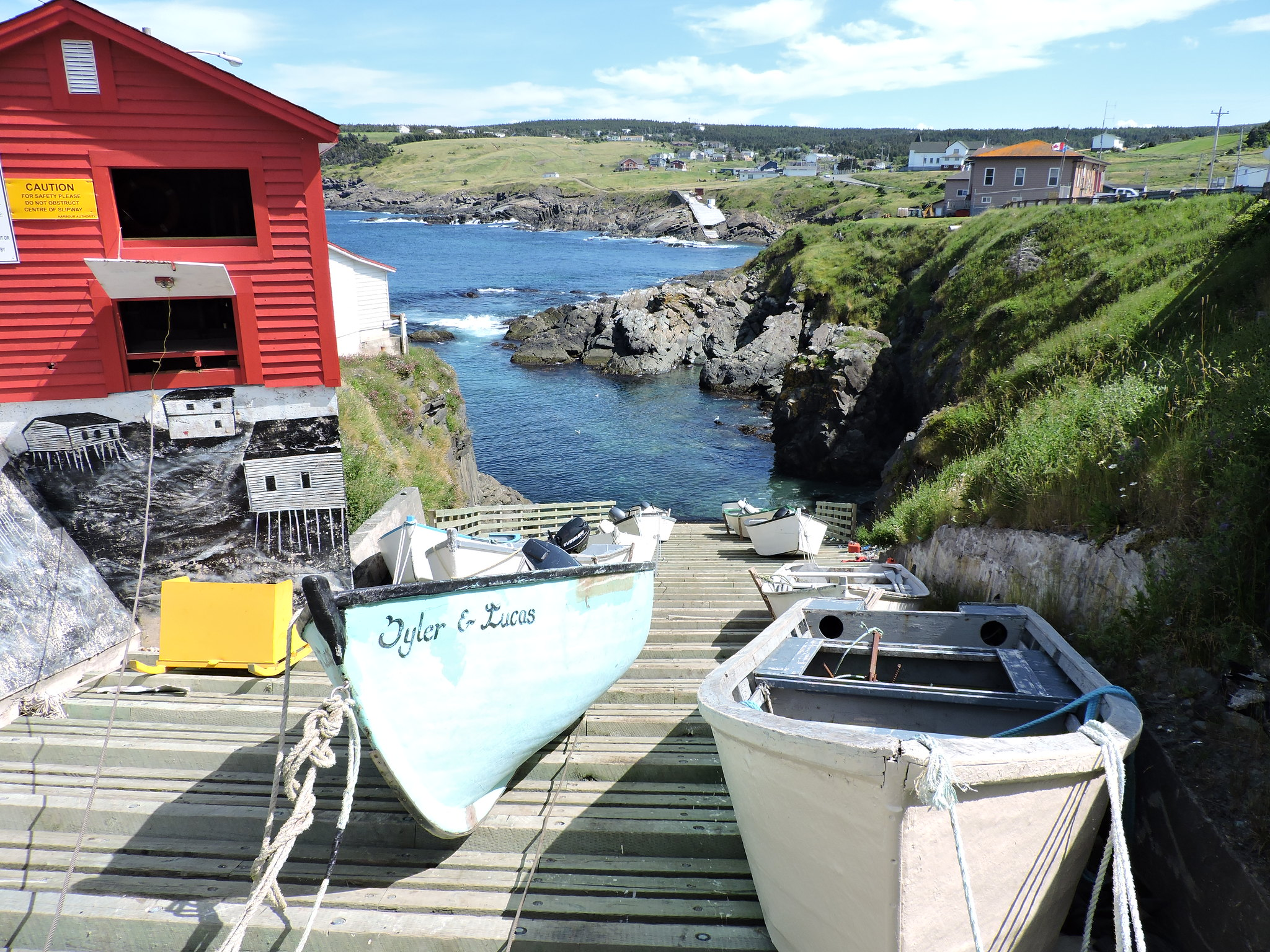 The Docks of Pouch Cove