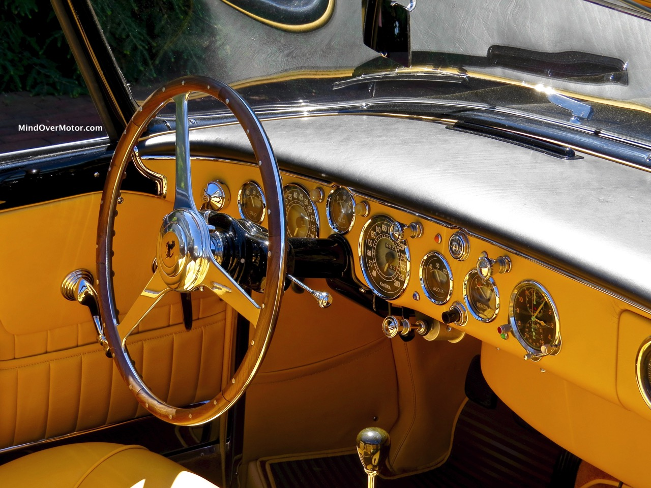 Ferrari 375 Plus Cabriolet Interior