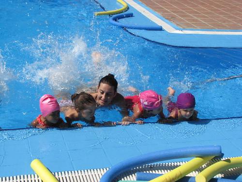 Cursos de natación piscinas de verano