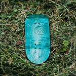 Middfinger - Green Laser Logo Board