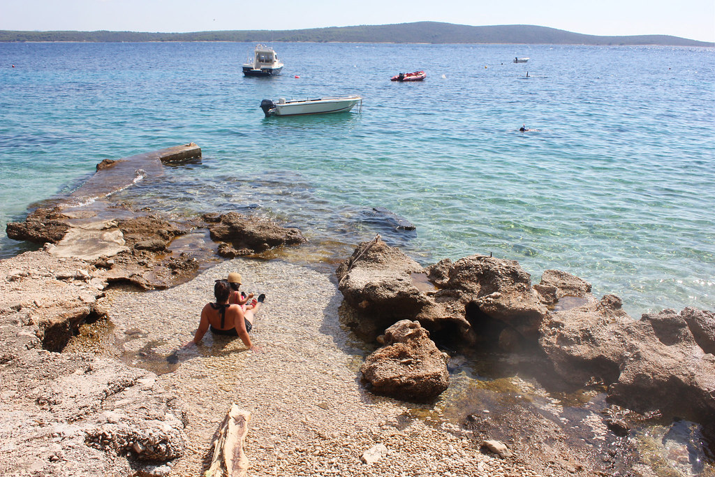 Hvar Croatia beach cove Skalinada