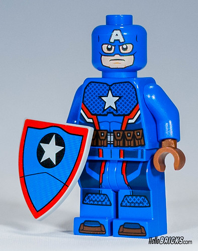 Lego SDCC 2016 Exclusive Captain America hydra minifigure