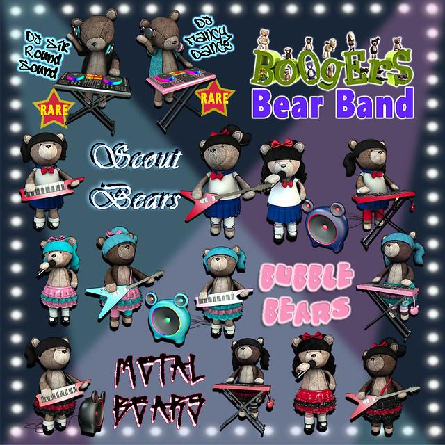 Boogers Bears June 2016 Sq LG
