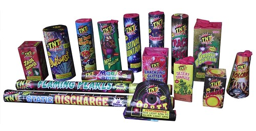 Orion Selection Box by TNT Fireworks - Inner Contents