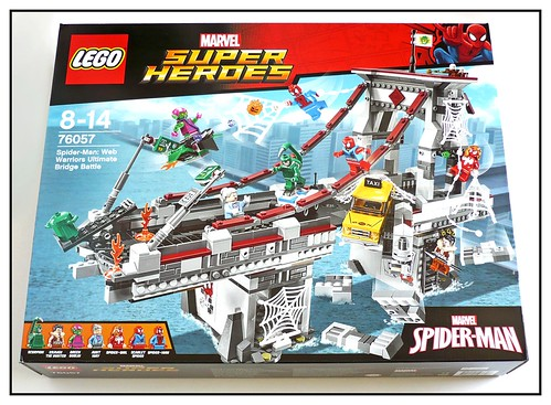 76057 Spider-Man Web Warriors Real Ultimate Bridge Battle 01