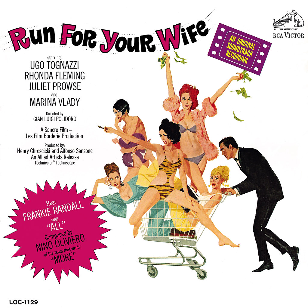 Nino Oliviero - Run For Your Wife
