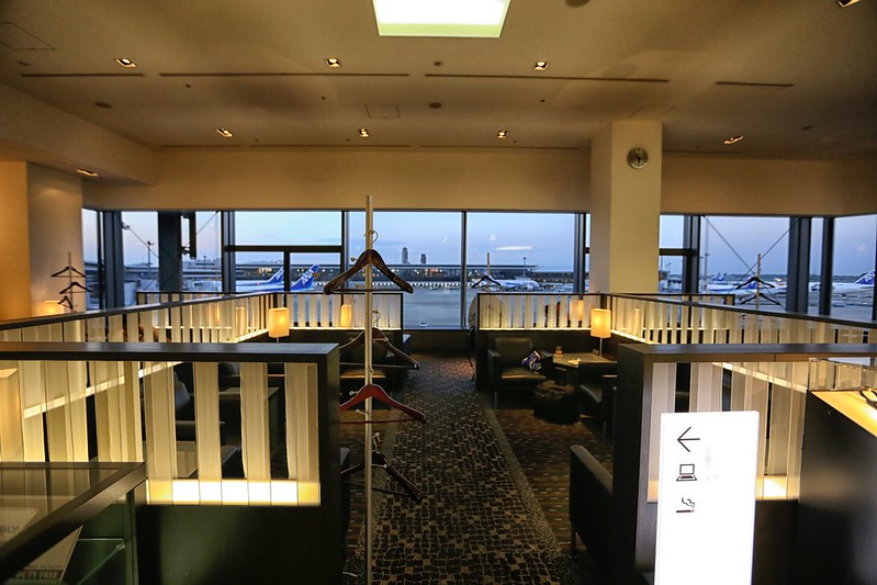ANA First Class lounge in NRT
