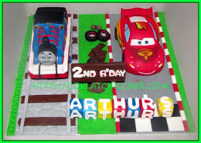 cake cars dan mcqueen