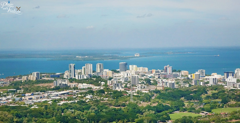 darwin city helicopter view