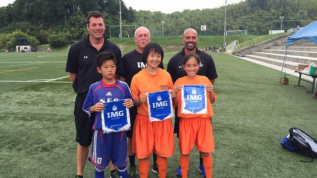 IMG Academy Soccer clinic in Fukuoka, Japan