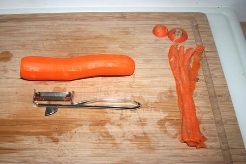 16 - Möhre schälen / Peel carrot