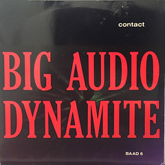 BIG AUDIO DYNAMITE:CONTACT(JACKET A)