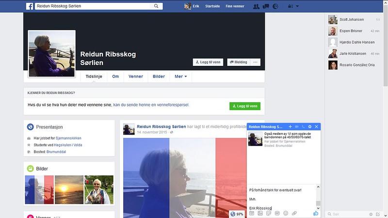 reidun ribsskog sørlien facebook