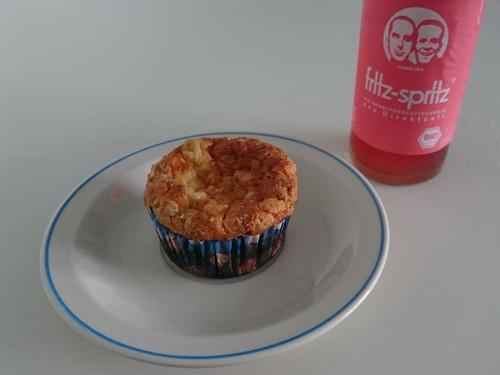 Rhabarber-Muffin (anlässlich des Geburtstags einer Kollegin)
