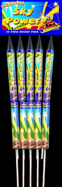 Sky Power Rocket Pack by Standard Fireworks