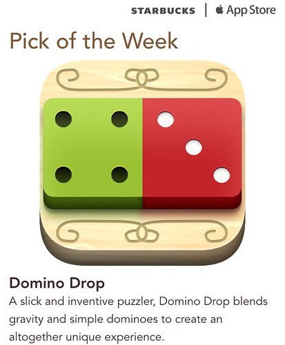 Starbucks iTunes Pick of the Week - Domino Drop