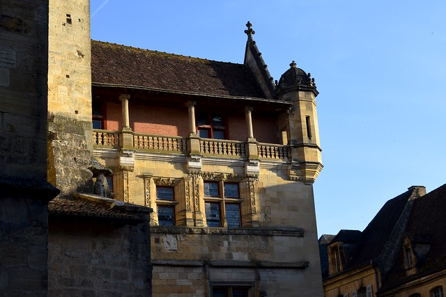 Church in Sarlat, Dordogne Valley | www.rachelphipps.com @rachelphipps