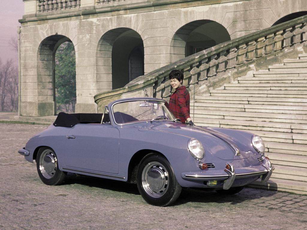 Porsche 356C 1600 Cabriolet. 1963 – 1965 годы