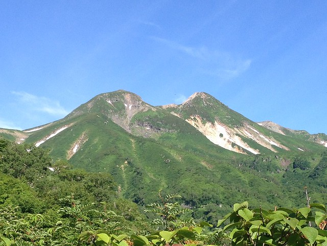 白山 平瀬道より御前峰・剣ヶ峰