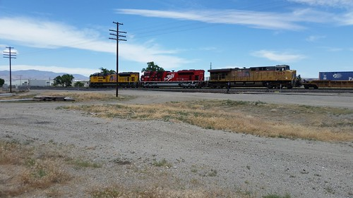 UP Katy Heritage Unit at Fernley