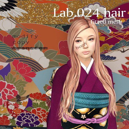 booN Lab.024 hair