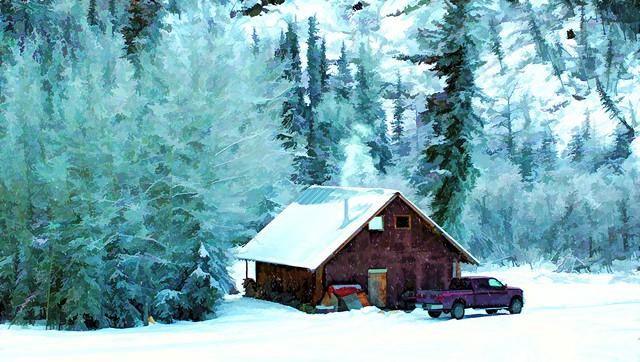 Caretakers cabin - Alaska