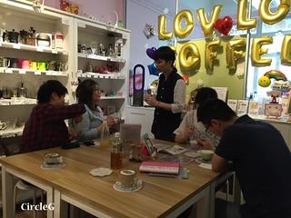 CIRCLEG 香港 火炭 笠笠咖啡 拉花 CAFE 2D 3D 海綿寶寶 遊記 (7)
