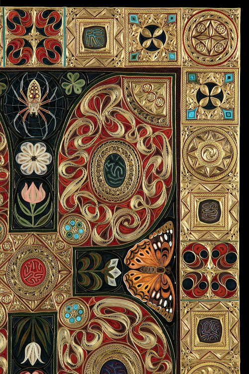 Gospel by Lisa Nilsson - Corner Quilled Detail