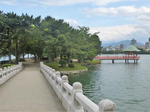 Jp16-Fukuoka-Lac-Parc Ohori (1)
