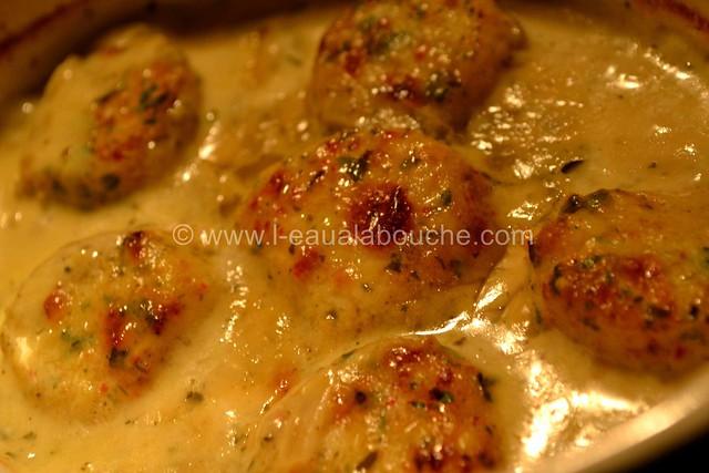 Noix de St Jacques  Gratinées Parfumées au Curry © Ana Luthi Tous droits réservés 17