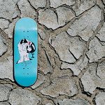 Iguana - Real-Wear Fingerboard Graphic Deck