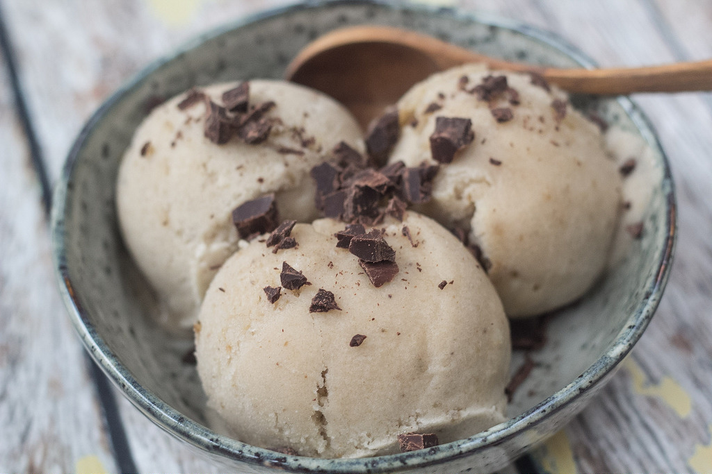Recipe for homemade and healthy Banana Ice cream