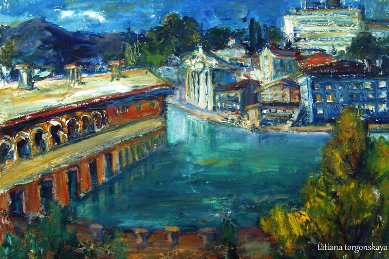 """Милена Шотра """"С реки Рона, Женева, Швейцария"""""""