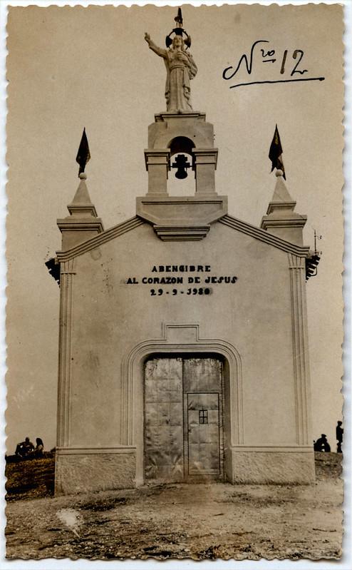 luis escobar Ermita del Sagrado Corazón de Jesús. Abengibre (Albacete) 29 9 1930