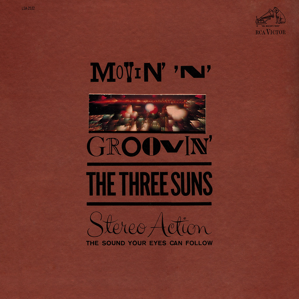 The Three Suns - Movin' 'n' Groovin