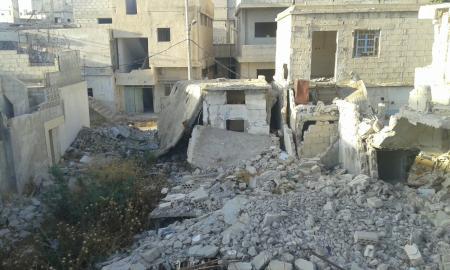 مخيم درعا 4