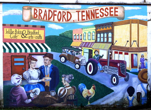 Bradford, TN mural