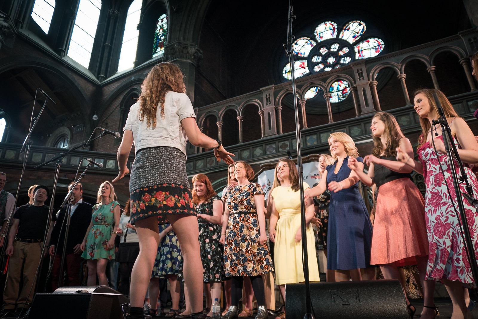 Daylight Music 227: The Pop-Up Choir