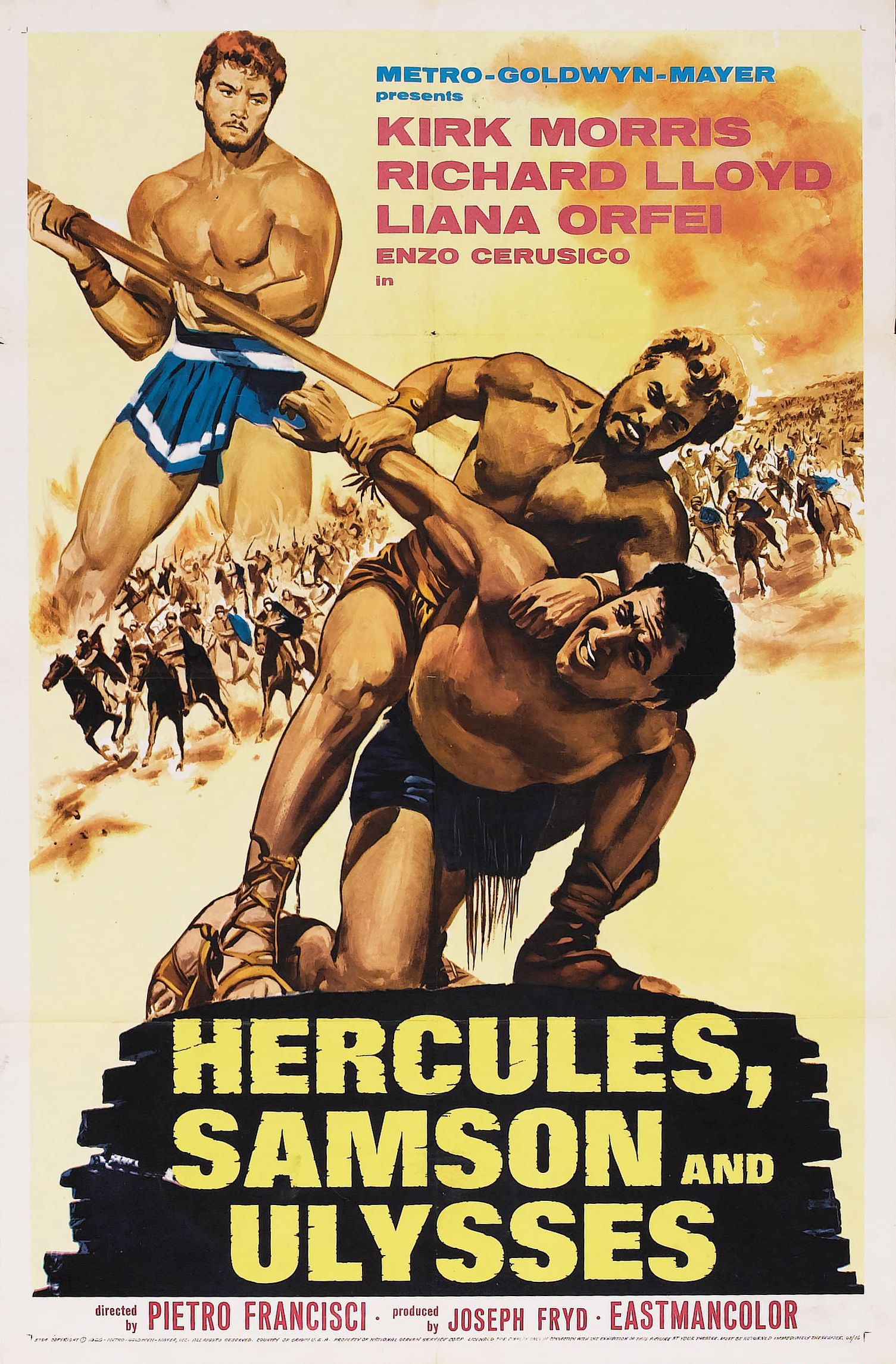 Hercules, Samson & Ulysses (1963)