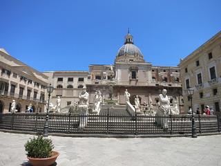 Palermo Fontana Pretoria