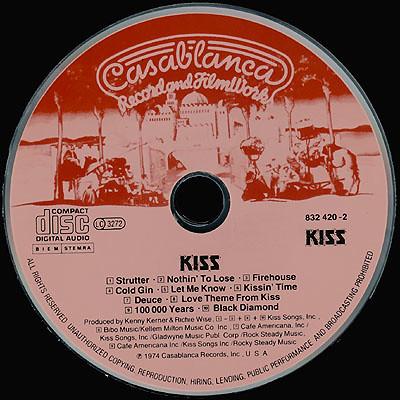 Kiss - Kiss - Disk