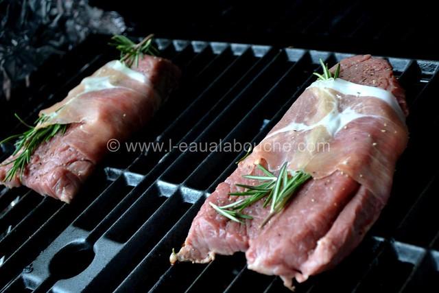 Steak de Boeuf Grillé au Jambon et Romarin © Ana Luthi Tous droits réservés 004