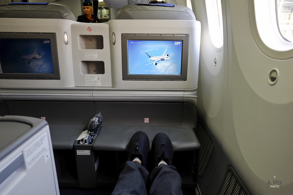 Legroom shot