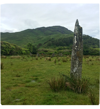 Holiday in Scotland 2016 - Standing Stone