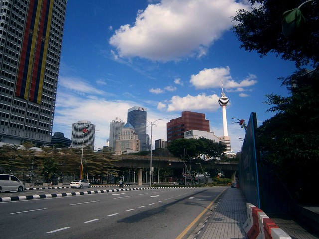 View of KL Tower
