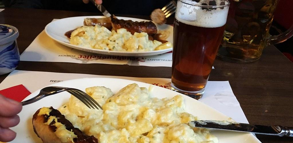 Bratwurst in Zurich