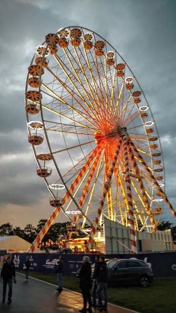 Ferris wheel at LeMans